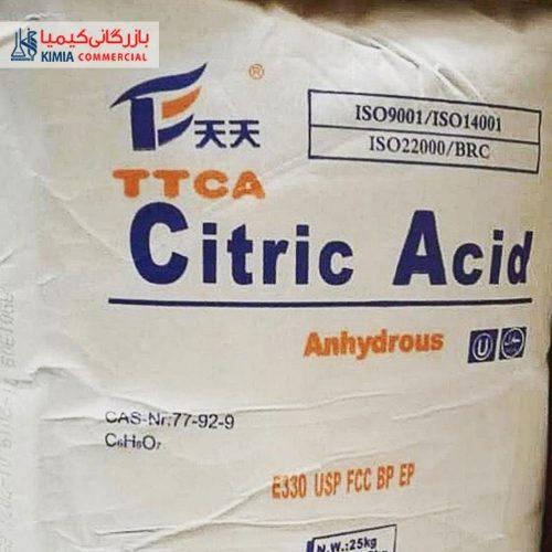 اسید سیتریک خشک