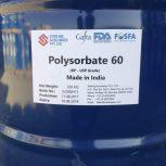 پلی سوربات ۶۰ – Polysorbate 60