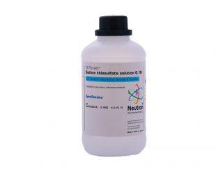 فروش محلول سدیم تیوسولفات ۰,۱ نرمال شیمی دارویی نوترون