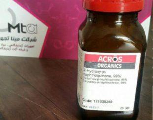 2-هیدروکسی پارا نفتوکینون اکروس