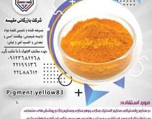 پیگمنت زرد ۸۳
