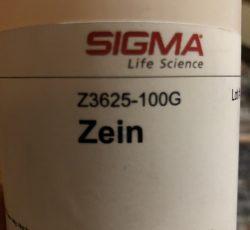 پروتئین زئین شرکت سیگما
