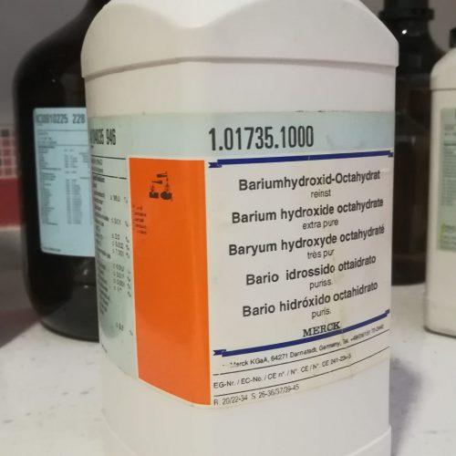 پتاسیم هیدروکساید و باریم هیدروکساید